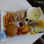 [台中] 50米深嵐 科博館早午餐 雞胸肉美好套餐超推薦 份量十足