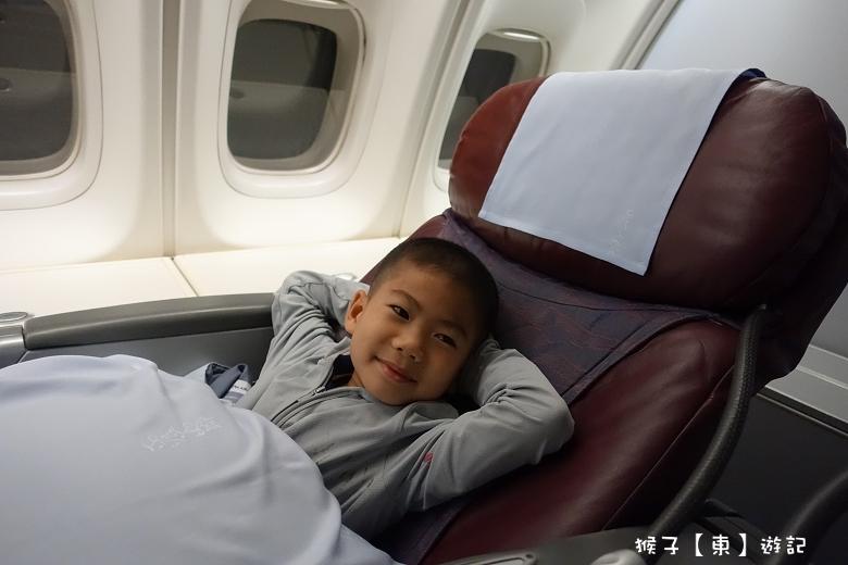 [日本] 沖繩親子自助旅行之出發去 華航波音747-400 用經濟艙價格搭商務艙 超幸運 - 波音747 - 猴子【東】遊記 - 親子 旅遊 住宿 景點 美食