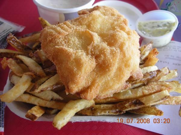 魚排+薯條