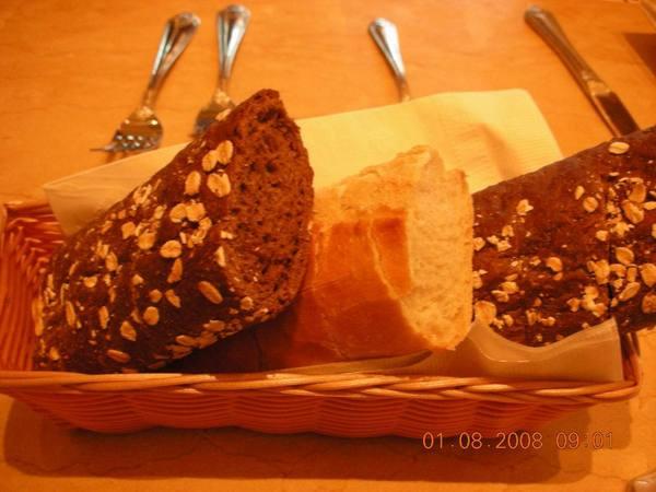 免費餐前麵包