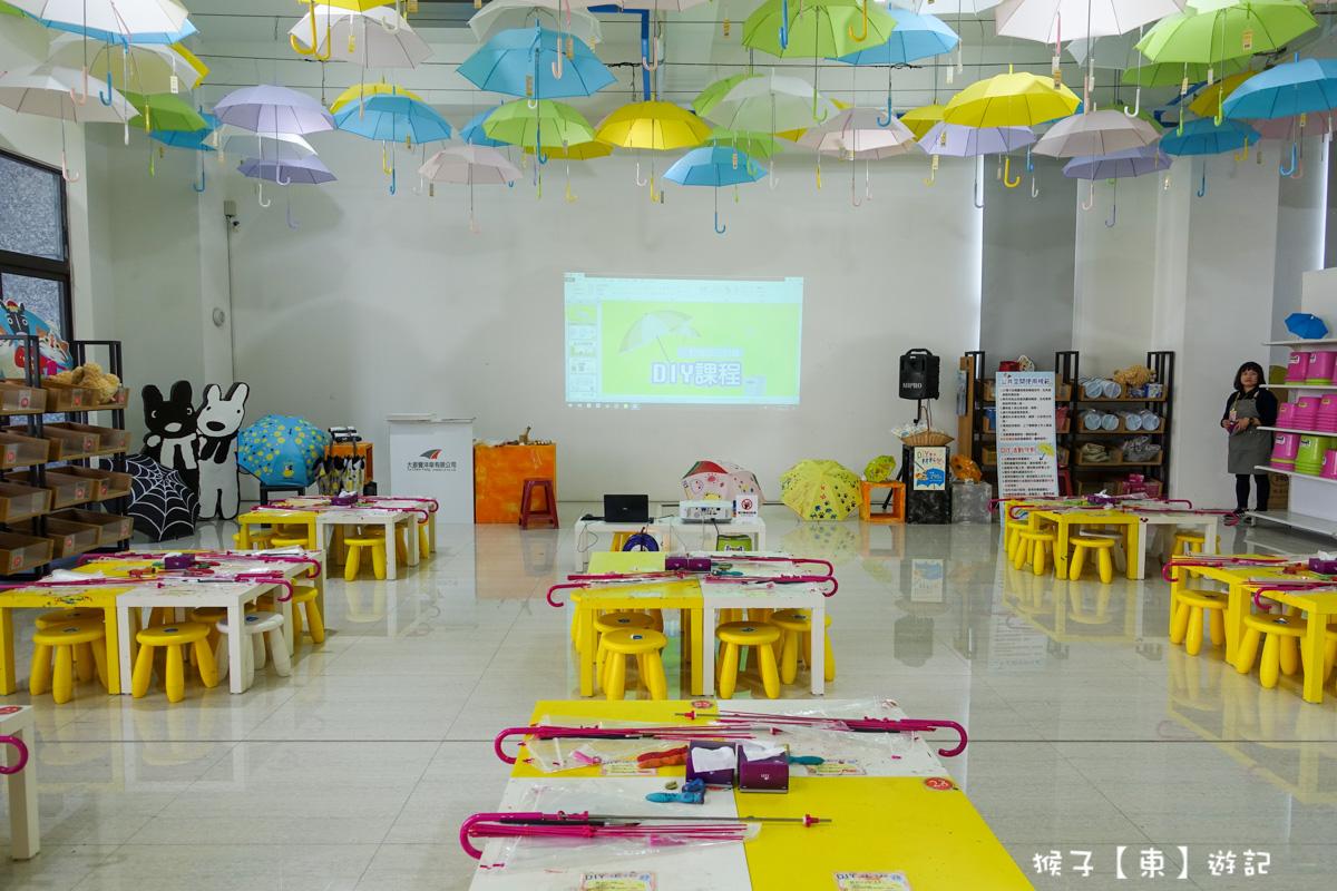 雨傘裝置藝術-台中觀光工廠推薦