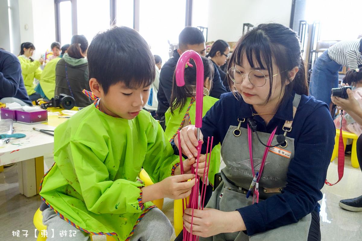 親子組裝傘-台中觀光工廠