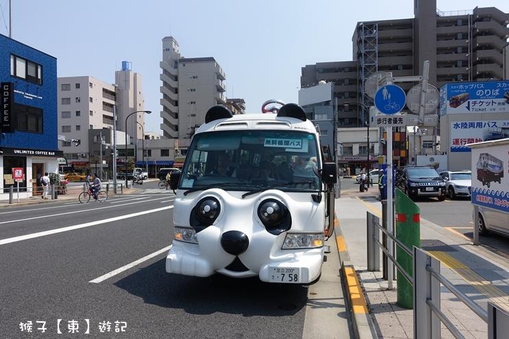 免費巴士,東京免費巴士,東京自由行,東京親子旅行,淺草,淺草免費巴士,無料,熊貓巴士 @猴子【東】遊記