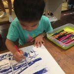 [4Y7M26D] 國立台灣美術館  2F兒童遊戲室重現浮世繪複刻工作室