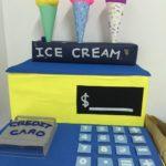 [4Y8M] 紙箱手作DIY 兒童收銀機玩具 冰淇淋組